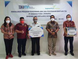 Bandara Sam Ratulangi Manado Kembali Salurkan TJSL, Kali Ini untuk Tiga Wilayah